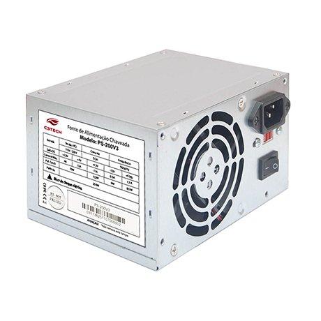FONTE ATX 200 Watts PS-200V3 C3TECH