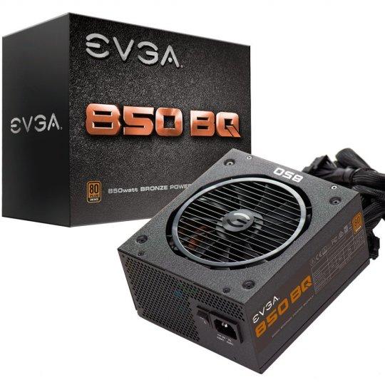 Fonte de Alimentação EVGA 850W 80 Plus Bronze, Semi Modular 110-BQ-0850-V