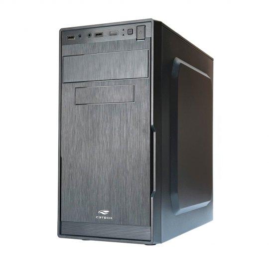 Gabinete C3 TECH MT-23BK 1 Baia Fonte ATX 200W
