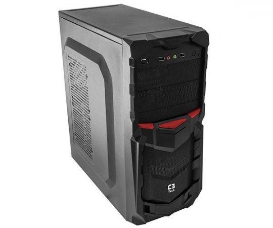Gabinete Gamer C3tech Mtg50 Bk S/fonte   InfoParts