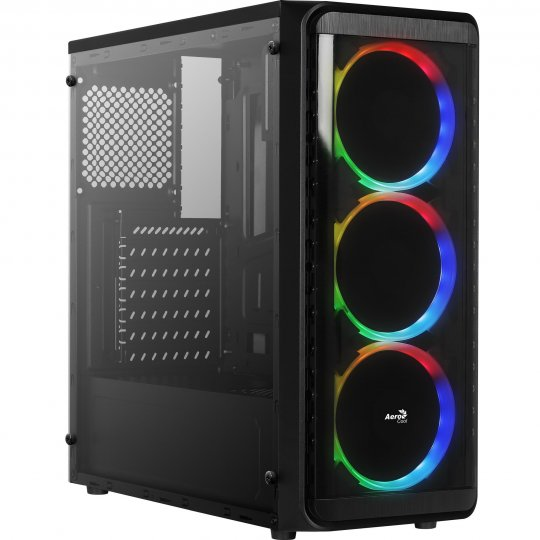 Gabinete Gamer Mid Tower SI-5200 RGB Window AEROCOOL