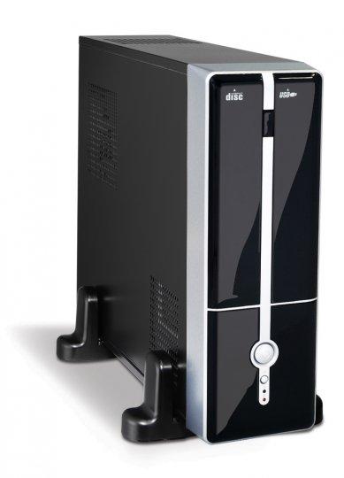 GABINETE K-MEX MATX ITX GM9G8A C/FONTE 250W Preto/Prata 1 Baia