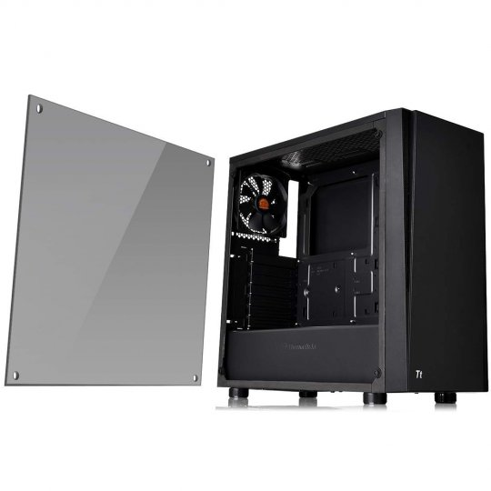 Gabinete Tt Versa J21 Tg Black/Win/Tempered Glass 1 CA-1K1-00M1WN-00