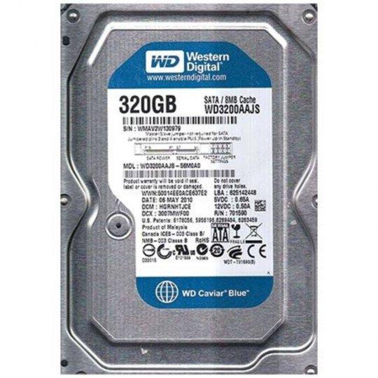 HD WD 320GB Sata II 3.0GB/s 8MB Cache 7.200RPM 3.5 WD3200AAJS