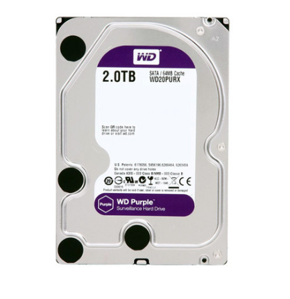 HD WD Purple Surveillance 2TB IntelliPower 64MB Cache SATA 6.0Gb/s WD20PURX