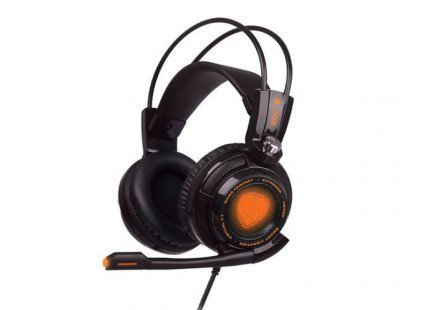HEADSET OEX HS-400 EXTREMOR GAME 7.1 VIBRATION BLACK