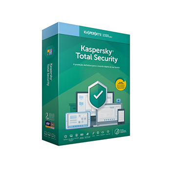 Licença Kaspersky Total Security 5 Dispositivos