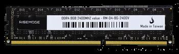 Memória 8GB DDR4 2400Mhz Risemode