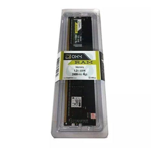 Memória RAM 4GB DDR4 2400Mhz Oxy