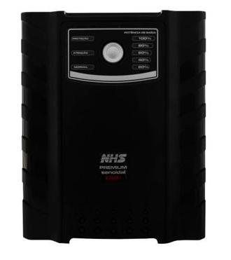 NO-BREAK NHS PREMIUM SENOIDAL xxxx-y (GII 2000VA Com 06 Baterias 7Ah/12V)