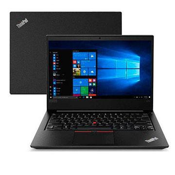 Notebook LENOVO E480 Core I5-8250U 8GB 500GB W 10 Pro