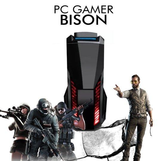 PC Gamer InfoParts BISON - Intel Core i5-8400, RX 560 4GB, 1TB, 8GB RAM