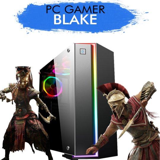 PC Gamer InfoParts BLAKE - Intel Core i5-8600k, GTX 1060 6GB, 1TB, 8GB RAM