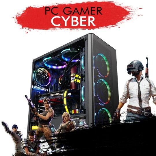 PC Gamer InfoParts CYBER - Intel I7 7700K, GTX 1050TI 4GB, 1TB, 8GB RAM