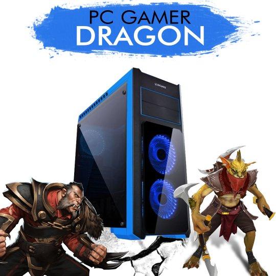 PC Gamer InfoParts DRAGON - Intel Core i5-7400, GTX1050TI 4GB, 1TB, 8GB RAM