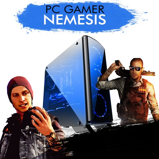 PC Gamer InfoParts NEMESIS - Intel Core i5-8600K, RTX 2070 8GB, 1TB, 8GB RAM