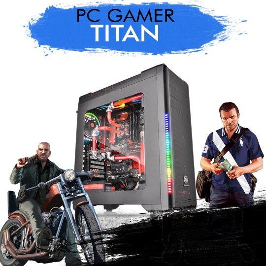 PC Gamer InfoParts TITAN - Intel Core i5-8600K, GTX 1060 6GB, 1TB, 8GB RAM