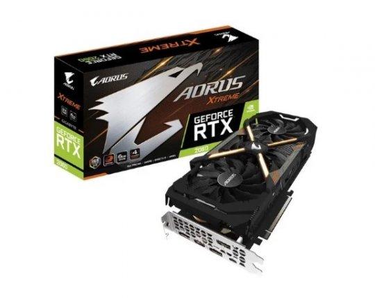 Placa de Vídeo Aorus RTX2060 6GB G6 Xtreme 192Bitis Gigabyte GV-N2060AORUSX-6GC R2