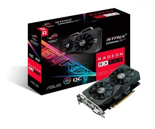 PLACA DE VÍDEO ASUS RX 560 4GB RX560-04G-EVO