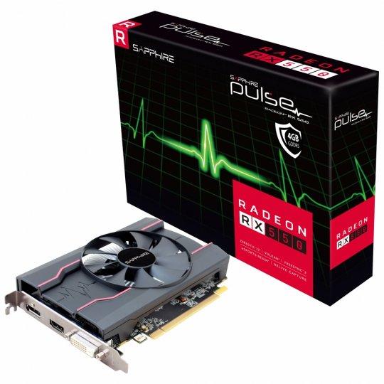 Placa de Video VGA AMD Sapphire RADEON RX 550 4Gb DDR5 11268-01-20G