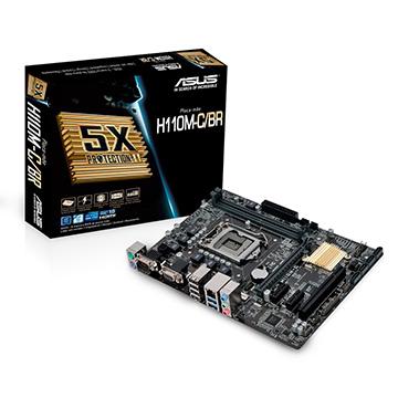 Placa Mãe ASUS H110M-C/BR DDR4 LGA 1151 Intel