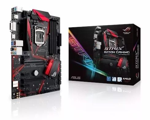 PLACA MÃE ASUS STRIX B250H GAMING DDR4