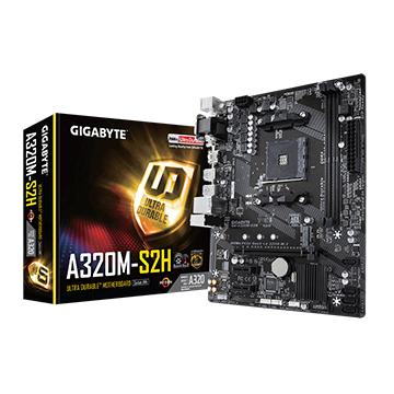 Placa  Mãe Gigabyte GA-A320M-S2H DDR4 AM4 AMD