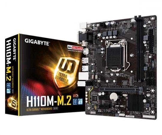 Placa Mãe Gigabyte GA-H110M-M.2 PPB DDR4 LGA 1151