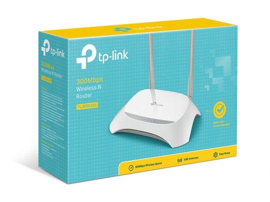 Roteador TP-LINK 300 Mbps TL-WR840N 2 Antenas