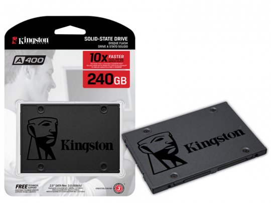 Ssd 240gb Kingston Sata Iii 6 Gbps Sa400s37/240g