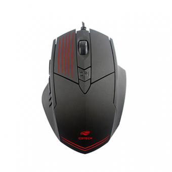 Mouse C3TECH Gamer MG-10BK Preto