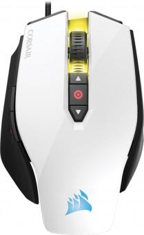 Mouse Gaming Optico M65 12000 Dpi Pro Branco Ch-9300111-na