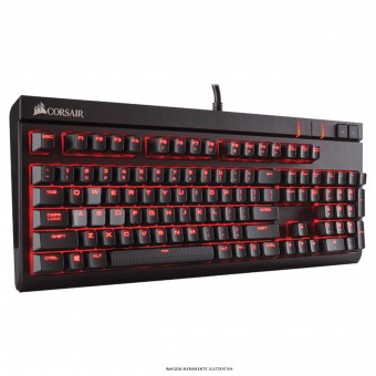 TECLADO GAMING MECANICO STRAFE CHERRY MX BROWN CH-9000092-BR - CORSAIR