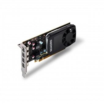 Placa de video Quadro nvidia P600 2GB GDD5 128 BITS VCQP600-PORPB - SUPORTA ATÉ 4 MONITORES/TV