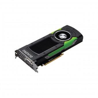 Placa de video Quadro nvidia P6000 24gb Gddr5x 384 Bits 4 Display Port + 1 Dvi-D-Dl Vcqp6000-Porpb - Pny