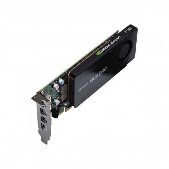 Placa Nvidia Quadro K1200dvi 4gb Gdd5 128 Bits Vcqk1200dvi-porpb Suporte Ate 4 Monitores/tv