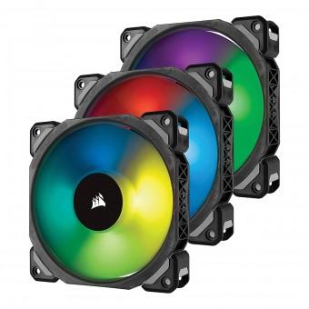 Fan p/ Gabinete ML120 RGB PRO 120MM Premium CO-9050076-WW (PACK COM 3)