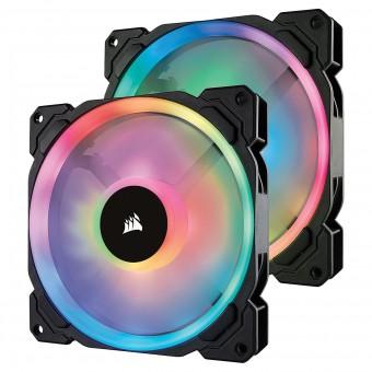 Fan p/ Gabinete LL SERIES 140MM RGB CO-9050074-WW (PACK COM 2 UNIDADES)