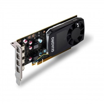 Placa de video Quadro nvidia P620 2gb Gddr5 128 Bits 4 Mini Display Port Vcqp620-Porpb Até 4 Monitores/Tv
