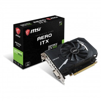 PLACA DE VIDEO MSI GEFORCE GTX 1050 AERO ITX 2GB GDDR5 128 BITS 912-V809-2455