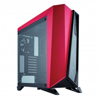 Gabinete Carbide Series SPEC-OMEGA MID-TOWER PRETO/VERM CC-9011120-WW