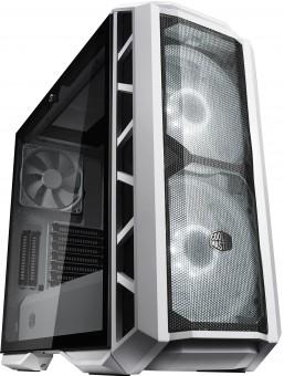 Gabinete H500P MCM-H500P-WGNN-S00 Mid-Tower 2 Fans Rgb Lateral de vidro Temperado