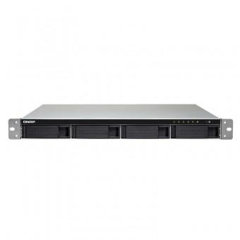 Servidor De Dados Nas 1U Intel Celeron Apollo Lake J3455 Quad-Core 1.5GHZ 2GB DDR3L 4 Baias Sem Disco - TS-453BU-2G Qnap