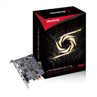 Placa de Captura Avermedia C985E GL510E Live Gamer HD PCI-E