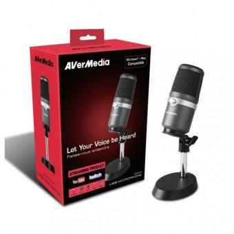 Microfone Profissional AverMedia USB AM310