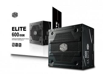 Fonte Elite V3 600W - Pfc ativo - MPW-6001-ACAAN1-WO