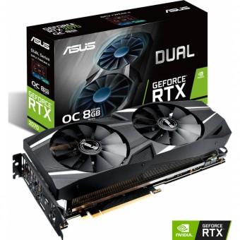 Placa de video Nvidea Geforce Asus Dual Rtx 2070 8GB Gddr6 256bit - DUAL-RTX2070-8G