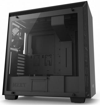 Gabinete H700 Matte Black - Painel de vidro Temperado - Gerenciamento de cabos - CA-H700B-B1
