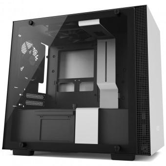 Gabinete H200 White - Mini-Itx - Painel de vidro temperado - Em aço - CA-H200B-W1