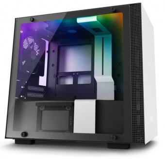Gabinete H200I White - Mini-Itx - Aço Secc e vidro temperado - CA-H200W-WB